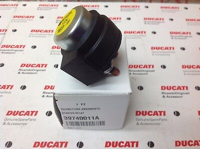 Ducati Starter Solenoid / Relay NEW GENUINE Ducati Part 39740011A
