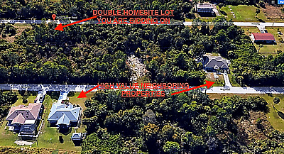 Charlotte County Florida, Double Homesite Lot, No Reserve