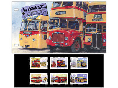 'All Aboard Please!' Manx Buses Part Three Presentation Pack (XA41)