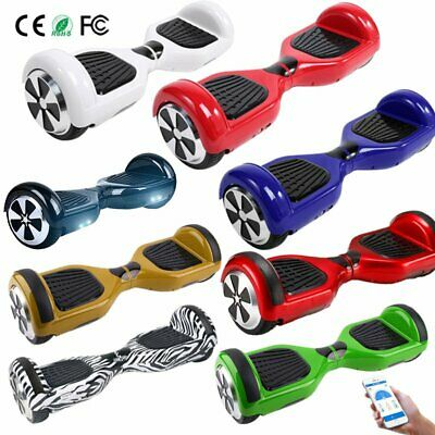 Hoverboard Nuovo Smart Balance Overboard Pedana Scooter Bluetooth Colori Luci