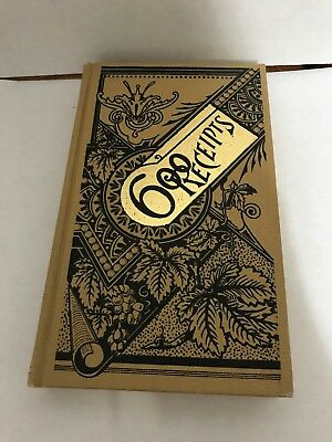 BOOK BLOWOUT: 600 Receipts by Marquart VERY COOL REPRINT Great Old Book (Box 3)