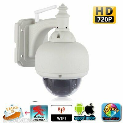 Telecamera Ip Camera Infrarossi 720P Hd Wireless Wifi Motorizzata Esterno Er