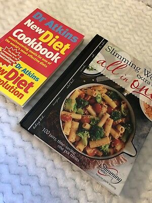Diet Book Bundle [GREAT DEAL] Slimming World And Dr Atkins Bundle! Weight Loss