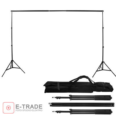 208cm x 320cm Mount system for photo studio background 2xstand+ crossbar /BA210