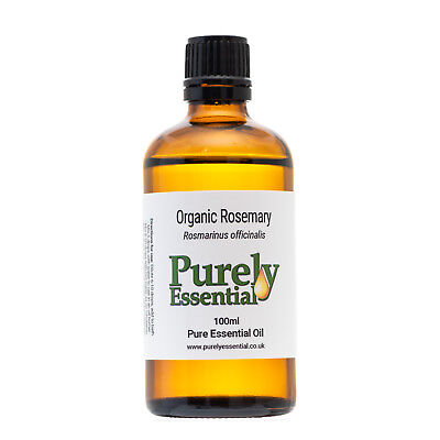Organic Rosemary Essential Oil 10ml 50ml 100ml 100% Pure & Natural, Purely