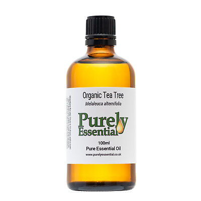 Organic Tea Tree Essential Oil 10ml 50ml 100ml 100% Pure & Natural, Purely