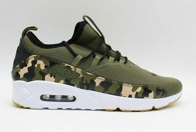 online store 13f8b 48699 Nike Homme Air Max 90 Ez Camouflage M Olive Chaussures Course AO1745-201  Neuf