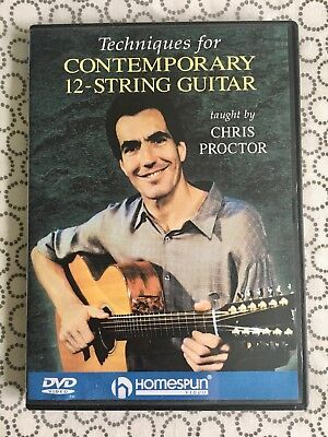 Techniques For Contemporary 12-String Guitar by Chris Proctor (DVD + Booklet)