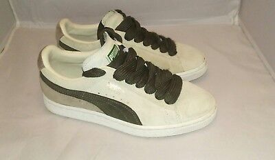 PUMA SUEDE CLASSIC Archive Low Birch Peacoat Men Shoes Sneakers size ... ef855183b