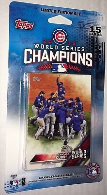 2016 Topps Factory Sealed Chicago Cubs World Series Champions Team Set Limited !