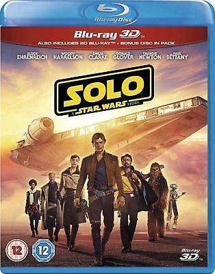 Solo - A Star Wars Story [3D+Blu-ray] New and Factory Sealed!!