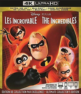 The Incredibles  [4K+Blu-ray] New and Factory Sealed!!