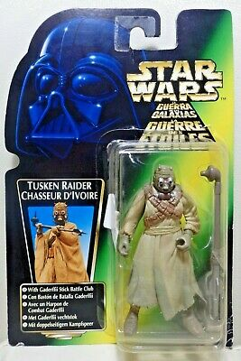 """Star Wars Kenner 3.75"""" The Power of the Force TUSKEN RAIDER ¡como nuevo!"""