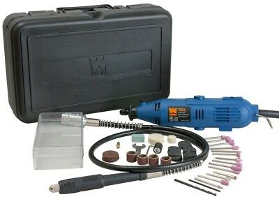 WEN Tool Kit Set Variable Speed Dremel Rotary Grinder Cutter 80 Accessories