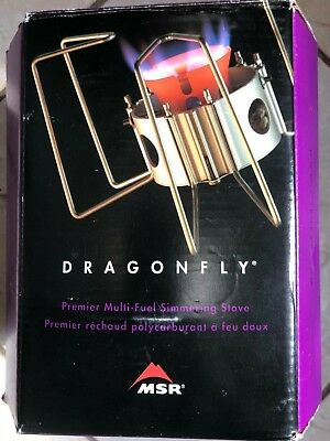 MSR DRAGONFLY PORTABLE Camping Backpacking Multi Fuel stove