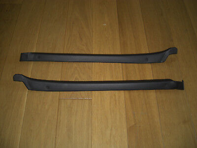 Porsche 911 Black Rear Side Panel Top Trims