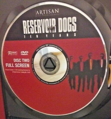 Reservoir Dogs (DVD, 2003, 10th Anniversary Edition, Full Frame) Disc Only!