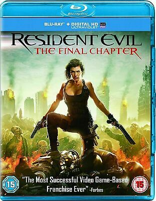 Resident Evil: The Final Chapter [Blu-ray] New and Factory Sealed!!