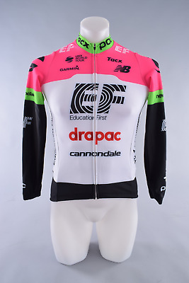 a438ecbc1 Cannondale EF Drapac Pro Cycling Team Long Sleeve Heavyweight Jersey Mens  Small