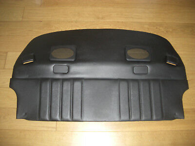 Porsche 911 964 Black Rear Parcelshelf