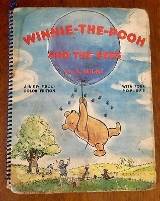 Winnie-the-Pooh and the Bees, 1952, With 4 Pop-Ups