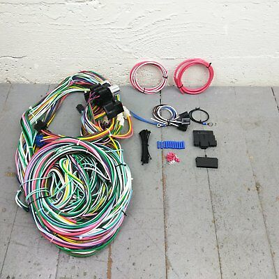painless wiring 1955 ford fairlane online wiring diagram 1955 Ford Fairlane Car 1960 1966 chevy or gmc truck wire harness upgrade kit fits 1955 ford fairlane convertible painless wiring 1955 ford fairlane