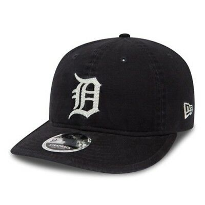 Detroit Tigers Canvas Coop Navy 9FIFTY New Era Strapback Cap - new w/Tags