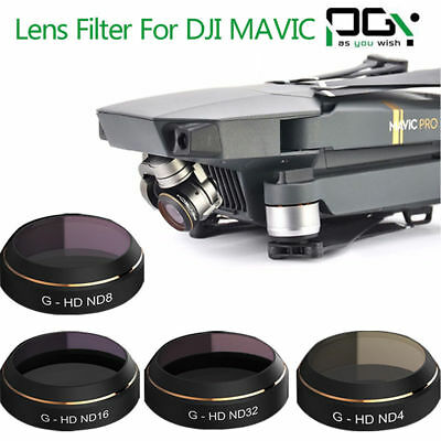 PGY Camera ND4 ND8 ND16 ND32 Thin Filter Lens for DJI MAVIC Pro Drone Quadcopter