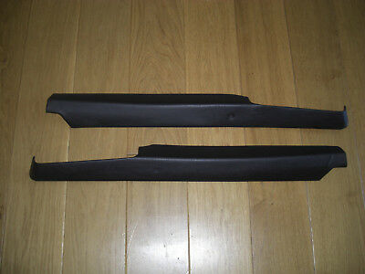 Porsche 911 964 Black Targa Rear Side Panel Top Trims