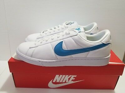 new style 52375 53eb8 Nike Tennis Classic Low White Blue Men s Shoes Sneakers Sz 11.5 (312495 ...