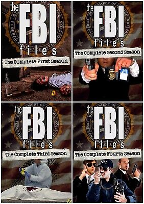 The Fbi Files Complete Season 1 2 3 4 New Collection (67 Episodes) 19 Dvd R4