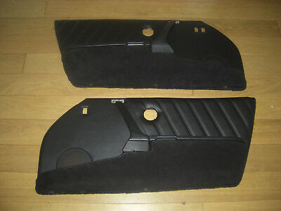 Porsche 911  Black Door Cards L/h Drive