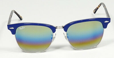 Ray Ban Icons Clubmaster Mineral Flash Gold Rainbow Sunglasses Rb3016 1223  c4 af63f61453