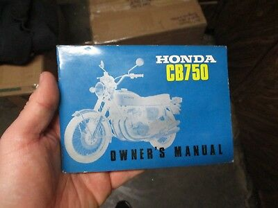 honda cb750 cb 750 k2 1972 owners manual original oem 72 with wiring diagram