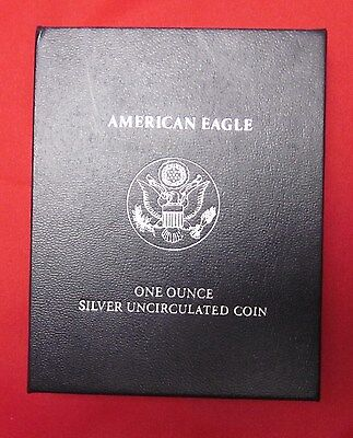 American Silver Eagle 2007W Burnished INC Box & COA