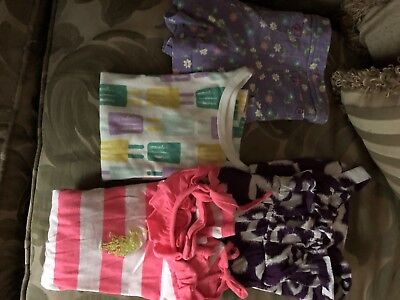 Girls Summer Mixed Lot Clothing Size 5 and 5/6 - 4 Piece