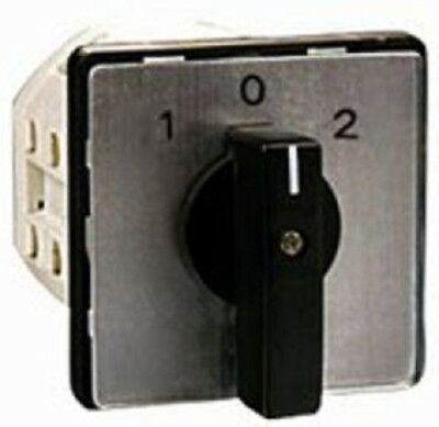 Elektra ON/OFF CAM SWITCH 25A 415V Turn Knob *German Brand- 3-Pole Or 4-Pole