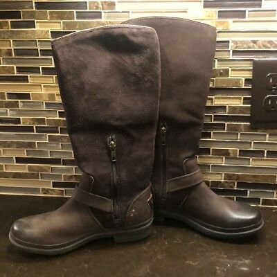 4bd7f363861 NEW UGG THOMSEN Wome's Waterproof Leather Winter Boots Sz 10US,41EUR ...