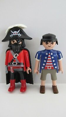 Playmobil Figure Lot Pirate w Hook & Eye Patch from 5869 or 5919
