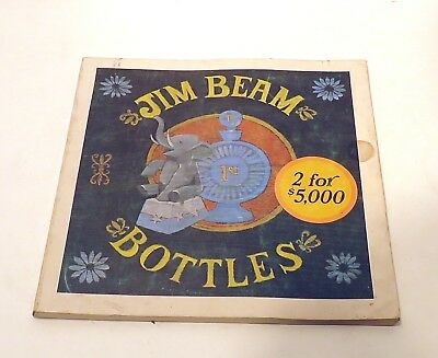 Jim Beam Bottles Book ID Price Guide 1971 1972 by Cembura and Avery Color Photos