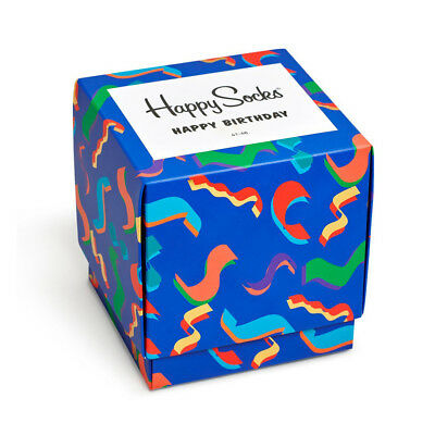 Happy Socks Neu Unisex Happy Birthday Geschenkbox - Multi Neu mit Etikett