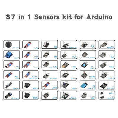 37 Sensor Ultimate 37in1 Sensor Module Kit for Arduino MCU Education User TE1124
