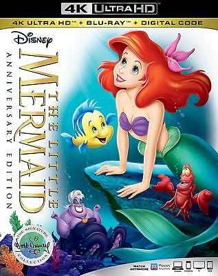 The Little Mermaid Signature Collection 4K Ultra Hd | Blu-Ray