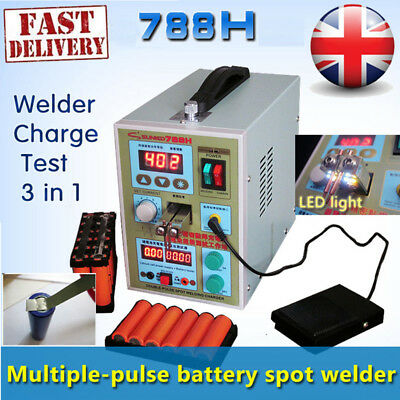 S788H LED Dual Pulse Spot Welder 220V 18650 Battery Charger 800A 0.1mm to 0.2mm*