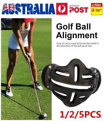 1/2/5Pcs Golf Ball Line Liner Marker Template Set Drawing Alignment Marks Tool