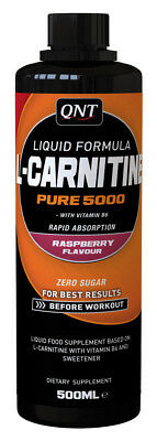 L Carnitine Pure 5000 0,5L Less Kraftsport Bodybuilding QNT