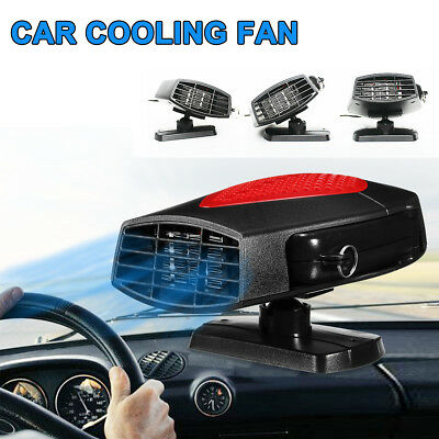 12V 150W Auto Car Portable Cooling Fan Air Condition Cooler/Space Heater 2 IN 1