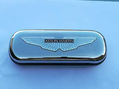 ASTON MARTIN DB9 car 2 brand new chrome glasses case great gift!!! Birthday Xmas