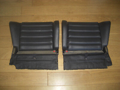 Porsche 911 964 Black  Rear Seat Backs