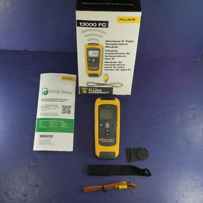 New Fluke t3000fc Wireless K-Type Temperature Module Calibrated through Jan '19